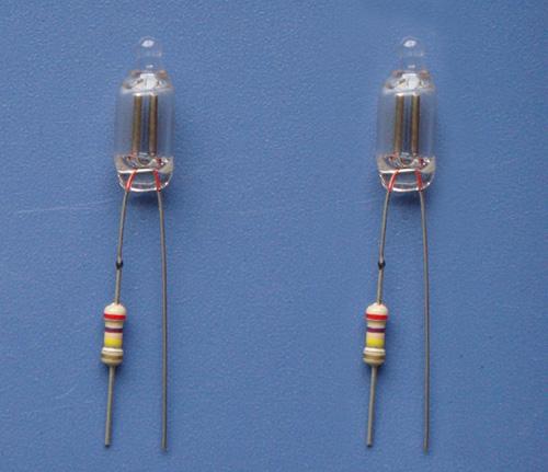 电焊接氖灯